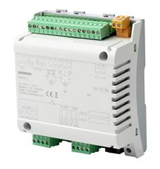 I/O block with KNX PL-Link block for use with a PXC3.E7.. series room automation station - RXM21.1 - S55376-C104